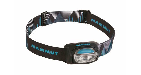 Mammut T-Base - Lampe frontale - bleu/noir